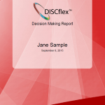 DISCflex Decision Making Program