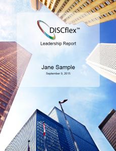 Best DISC Assessment for Leadership.