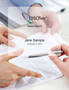 Sales training with DISC Assessment Sales Program.