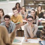 Large group of happy students having a class.  [url=http://www.istockphoto.com/search/lightbox/9786738][img]http://dl.dropbox.com/u/40117171/group.jpg[/img][/url]