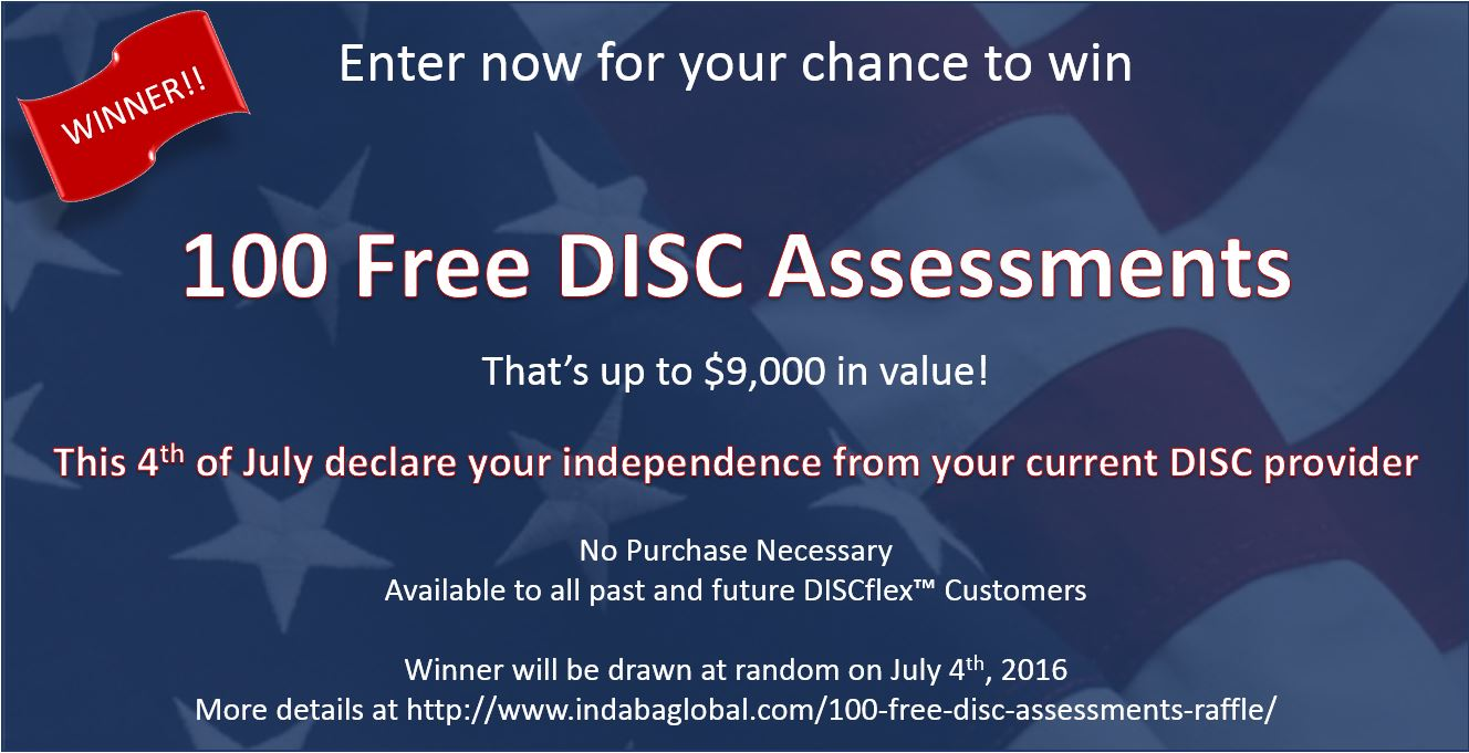 100 free disc assessments