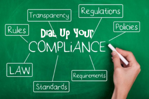 Dial up compliance